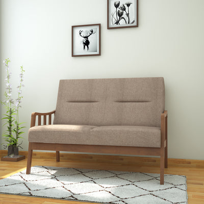 Colette 2 Seater Sofa (Brown)