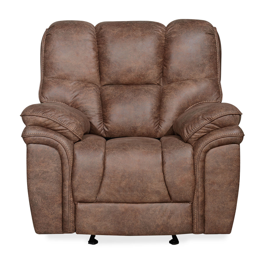 Dubai 1 Seater Manual Recliner (Brown)