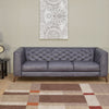 Kennedy 3 Seater Sofa (Grey)