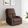 Matt 1 Seater Manual Recliner (Brown)