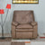 Vennessa 1Seater Sofa Rocker Recliner (Light Brown)