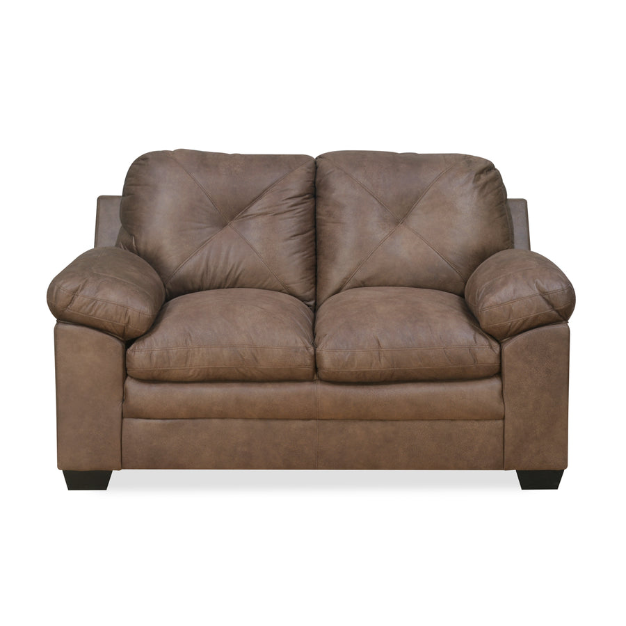 Vennessa 2 Seater Sofa (Light Brown)