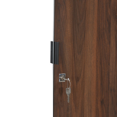 Avery 4 Door Wardrobe With Mirror (Wenge)
