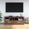 Alexus Low Height Wall Unit (Brown)