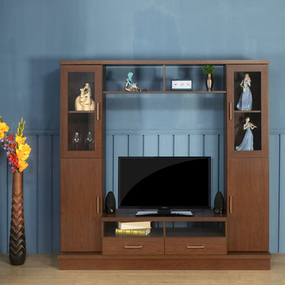 Norland Wall Unit (Walnut)