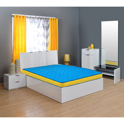 Nilkamal Coolbond 5 Coir Mattress (Blue)