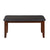 Floret Dining Bench (Walnut)
