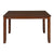 Floret 4 Seater Dining Table (Walnut)