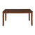 Floret 6 Seater Dining Table (Walnut)