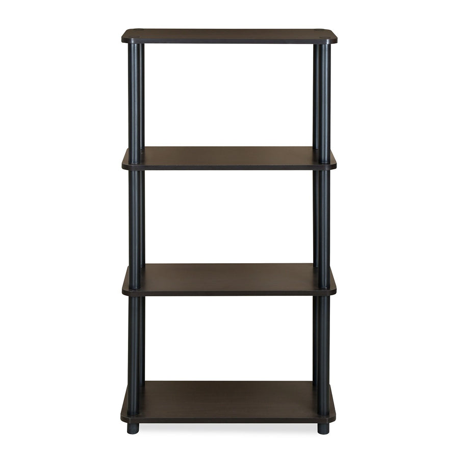Fitz 4 Tier Shelf (Brown)