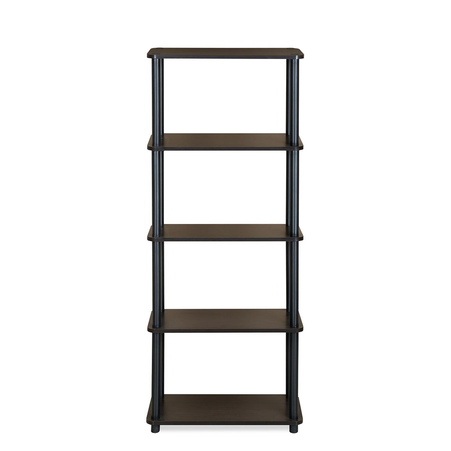 Fitz 5 Tier Shelf (Brown)
