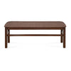 Gem 1+4+Bench Dining Set (Cappuccino)