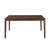 Gem 6 Seater Dining Table (Brown)