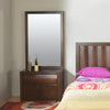 Gladiator Dresser With Mirror (Brown)