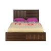 Gladiator Queen Bed With Storage (Brown)