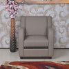 Gregory 1 Seater Sofa (Brown)