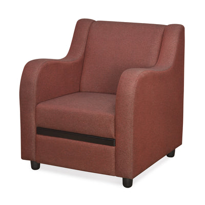 Gregory 1 Seater Sofa (Maroon)