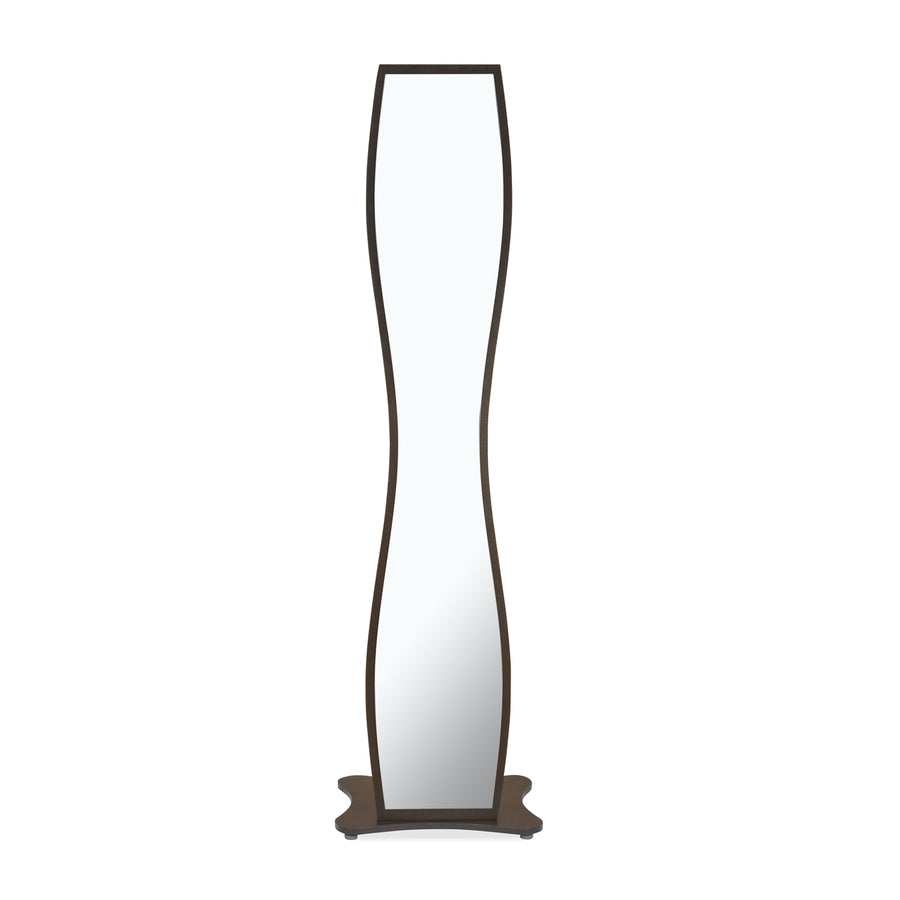 Griggs Standing Mirror (Dark Brown)