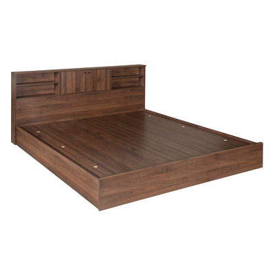 Gunner King Bed With Head & Box Storage (Wenge)