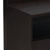Gella Side Table (Dark Brown/Cream)