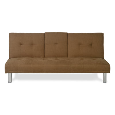 Hans Sofa Cum Bed With Drop Down (Light Brown)