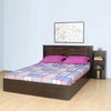Harrier 02 King Bed with Box Storage (Wenge)
