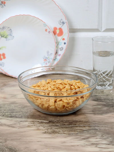 Single Round 500 ml Bowl (Clear)