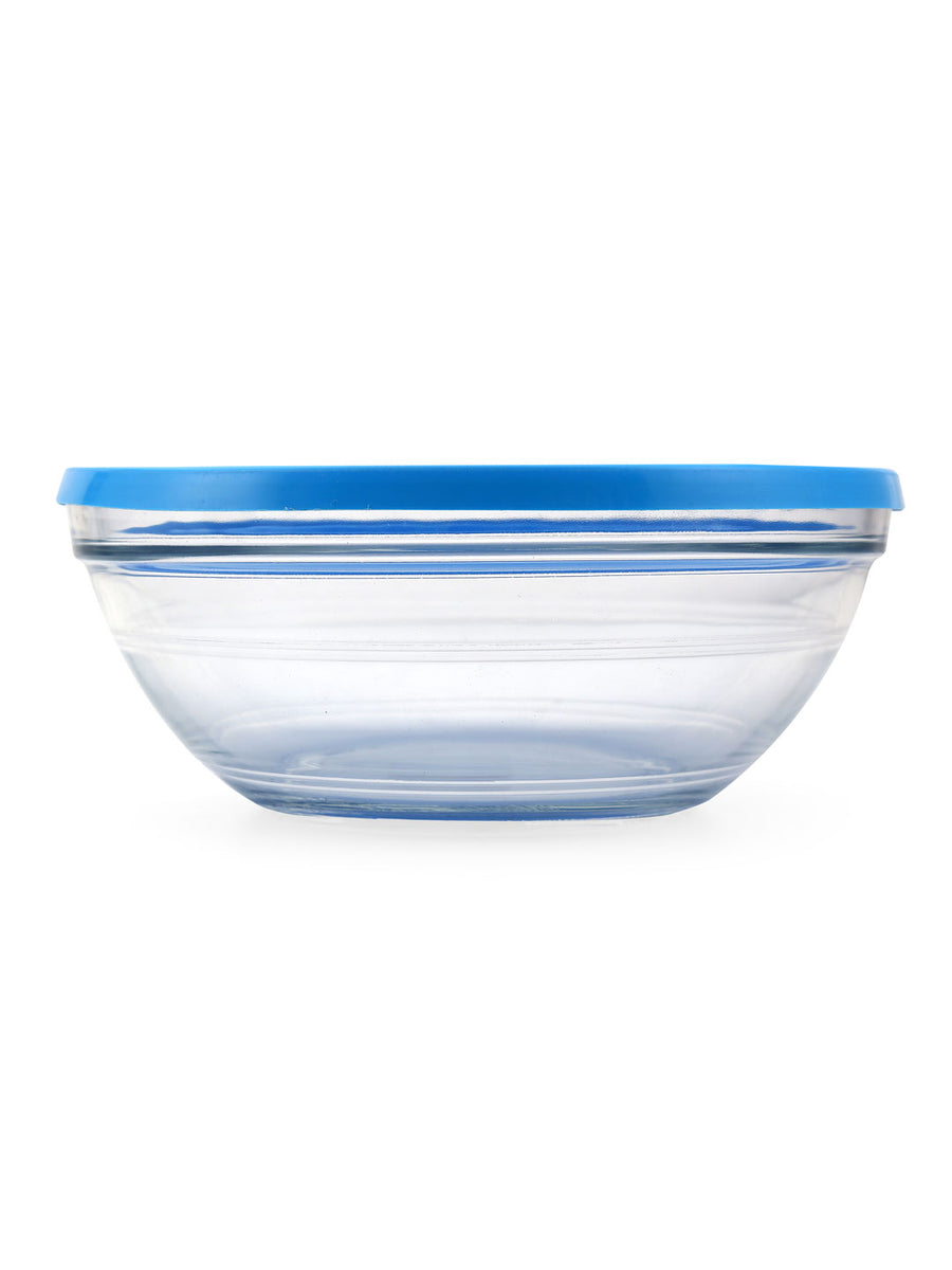 Round 1590 ml Bowl with Lid (Clear)