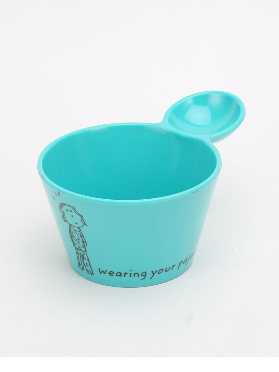 Happiness 500 ml Fries Dip Bowl (Sea Green)