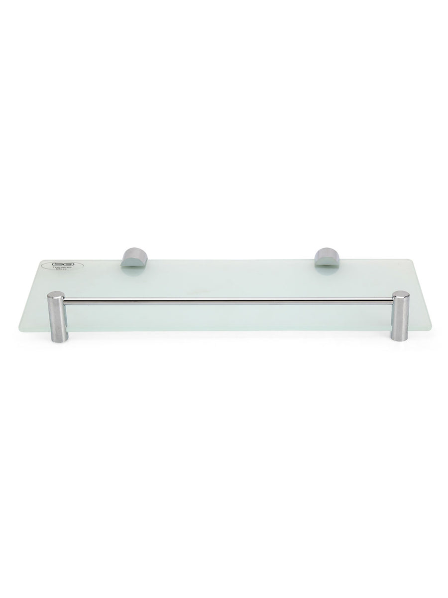 Frosted Wall Shelf (Silver)