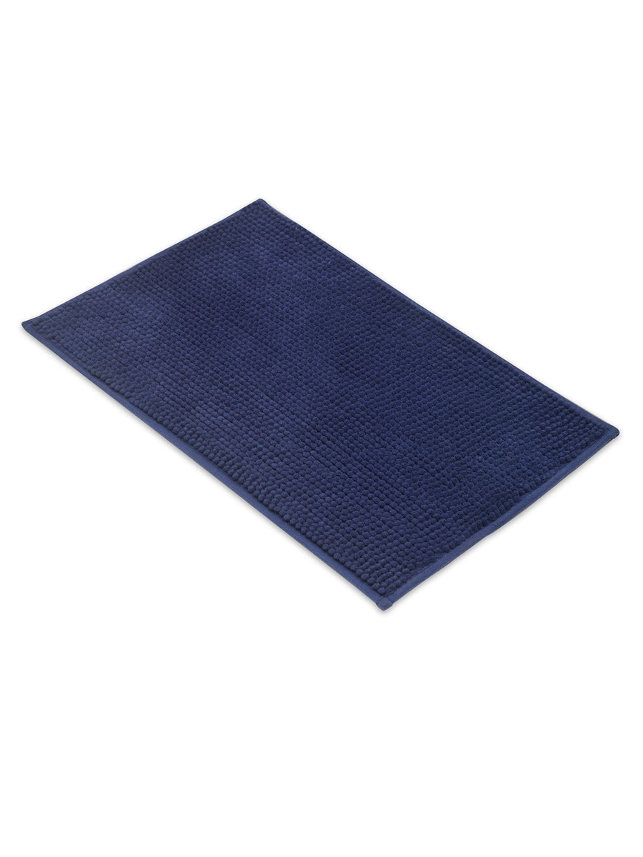 Pile Bath Mat (Blue)