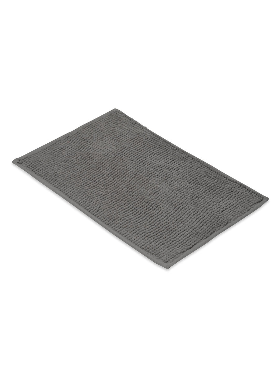 Pile Bath Mat (Grey)