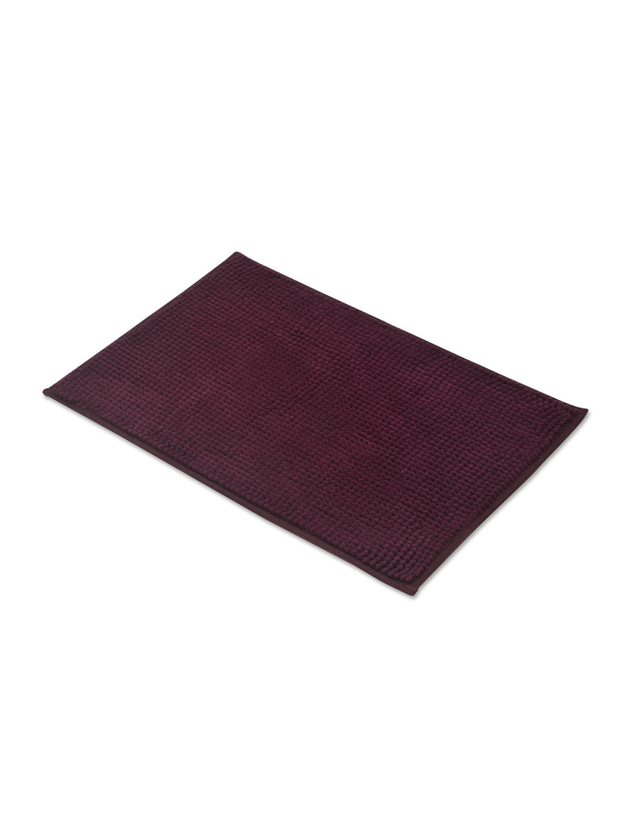 Pile Bath Mat (Purple)