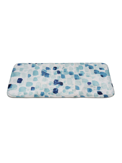 Water Color Shower And Bathmat Set (Sea Green)