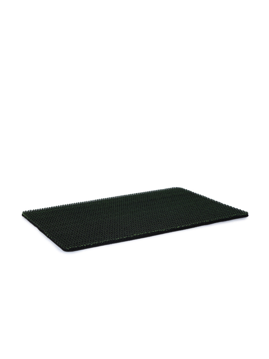 Solid Rubber Doormat (Green)