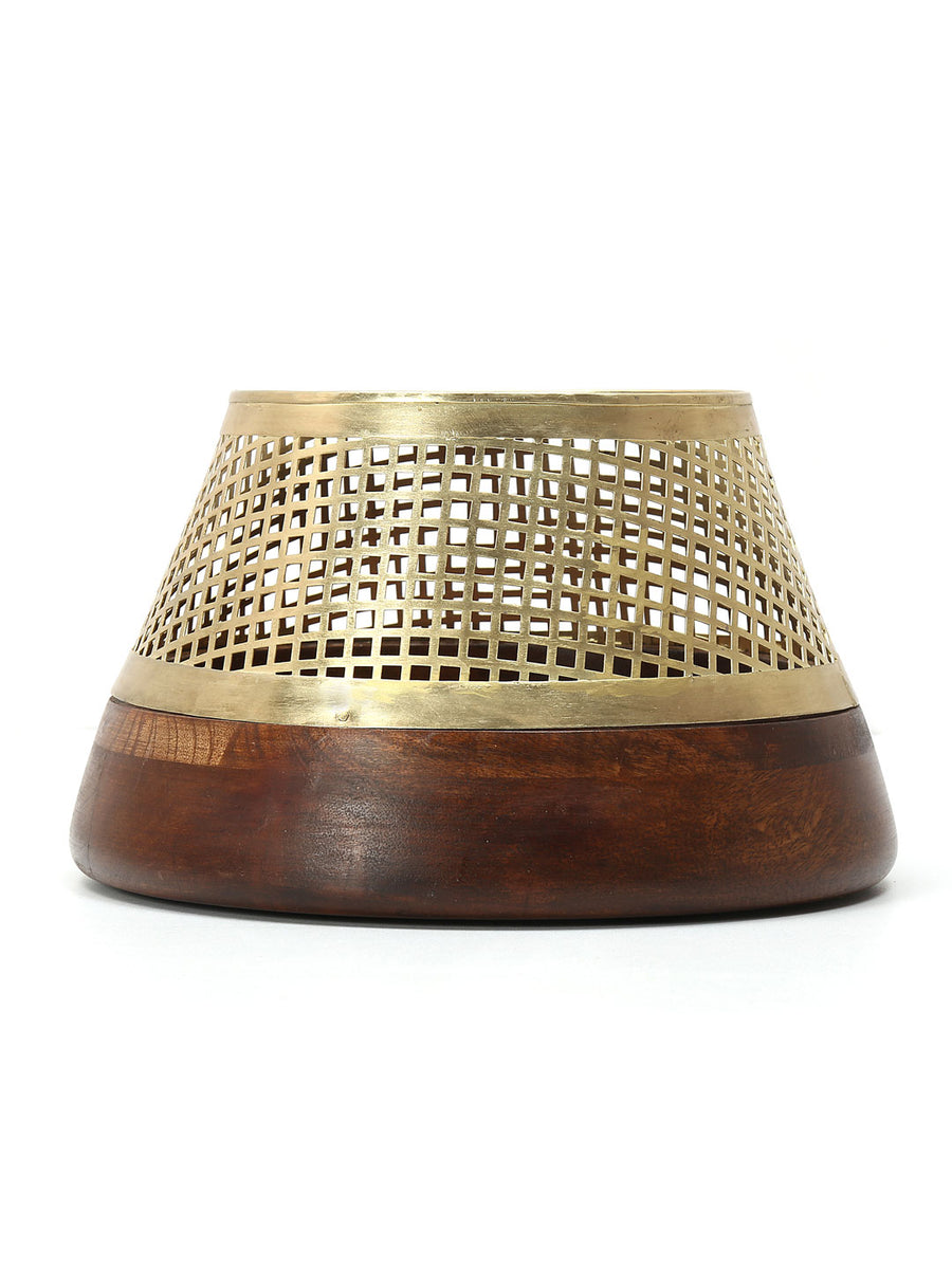 Upper Jali Cutwork Bowl (Gold)