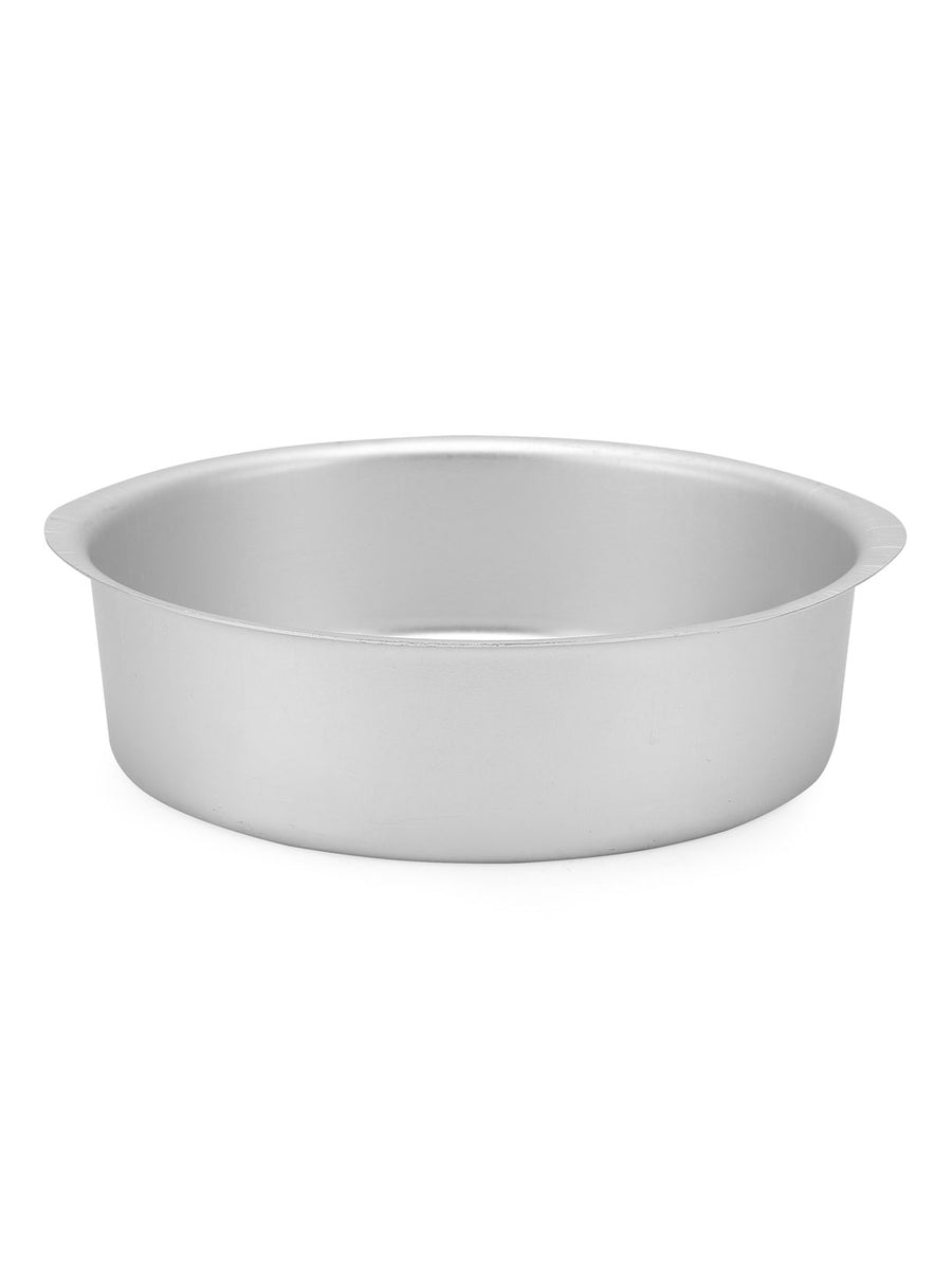 Round Small Bakeware Cake Mould (Silver)