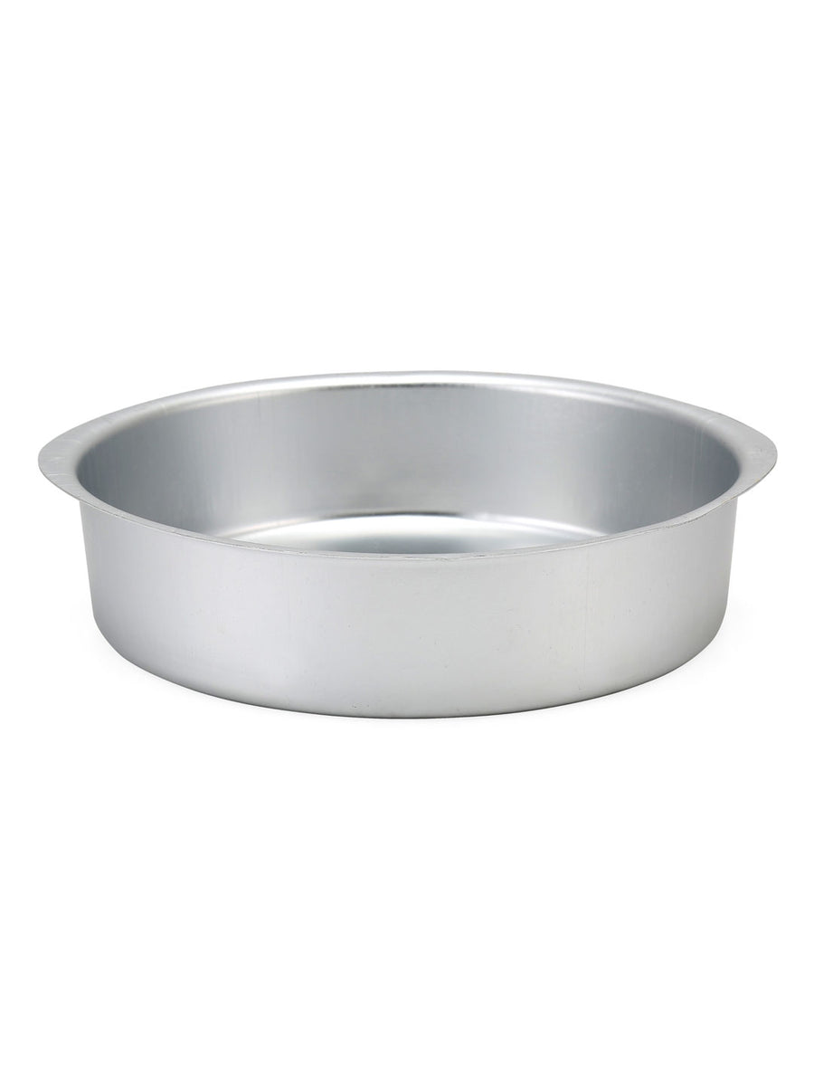 Round Large Bakeware Cake Mould (Silver)
