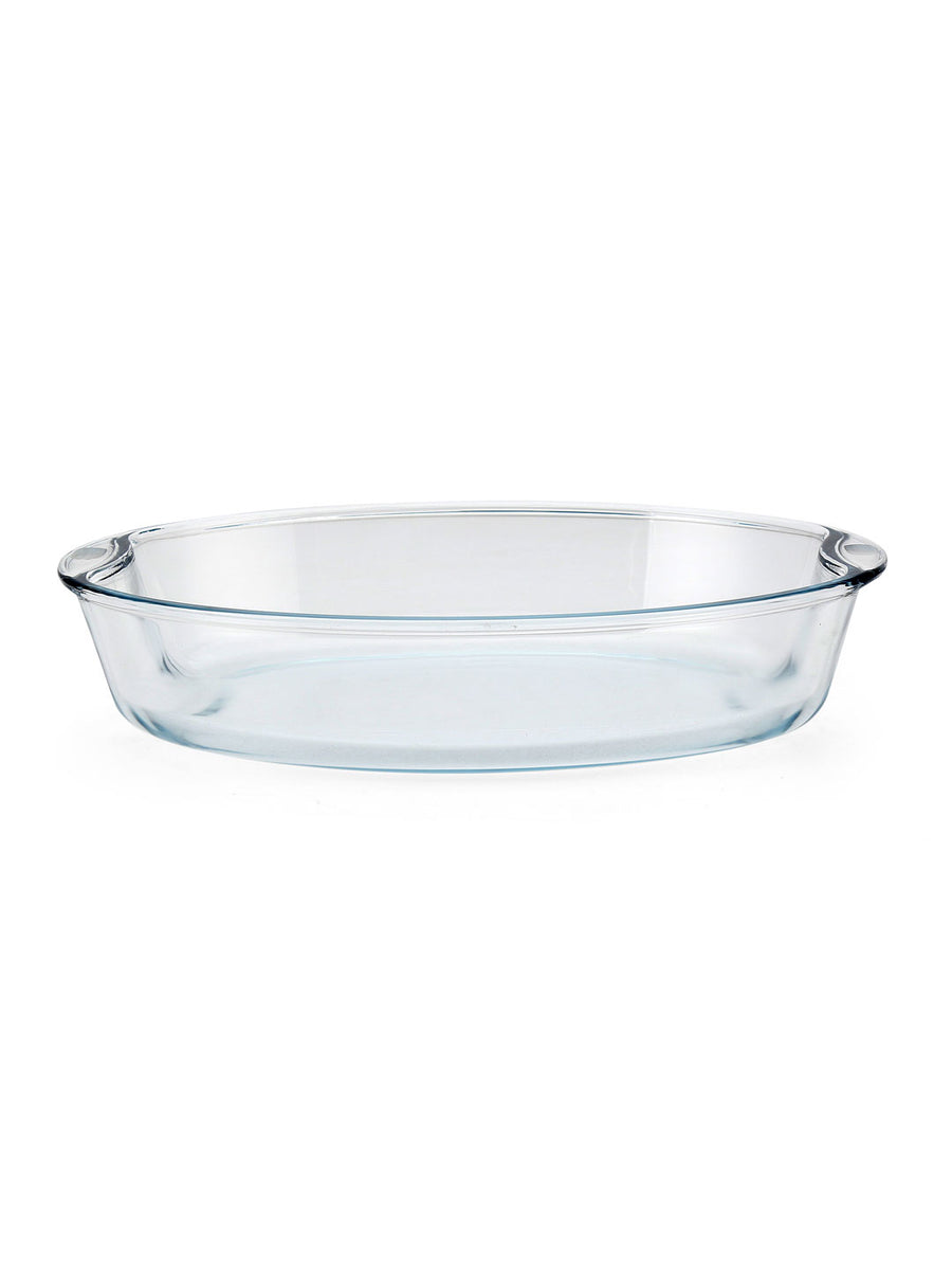 Bake & Serve Oval 2.5 Litre Dish (Clear)