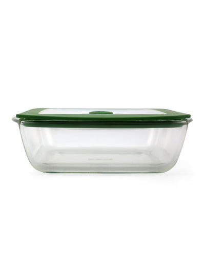 Square 2.2 Litre Dish with Lid (Clear)