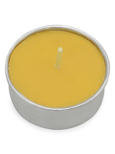 Peach Honeysuckle Tealight 24 Pieces (Yellow)