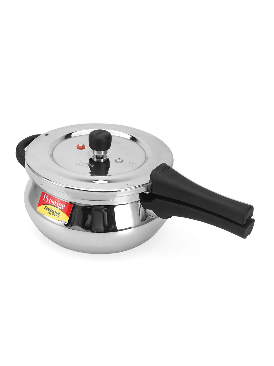 Swach Deluxe Alpha 3 Litre Cooker Handi (Silver)