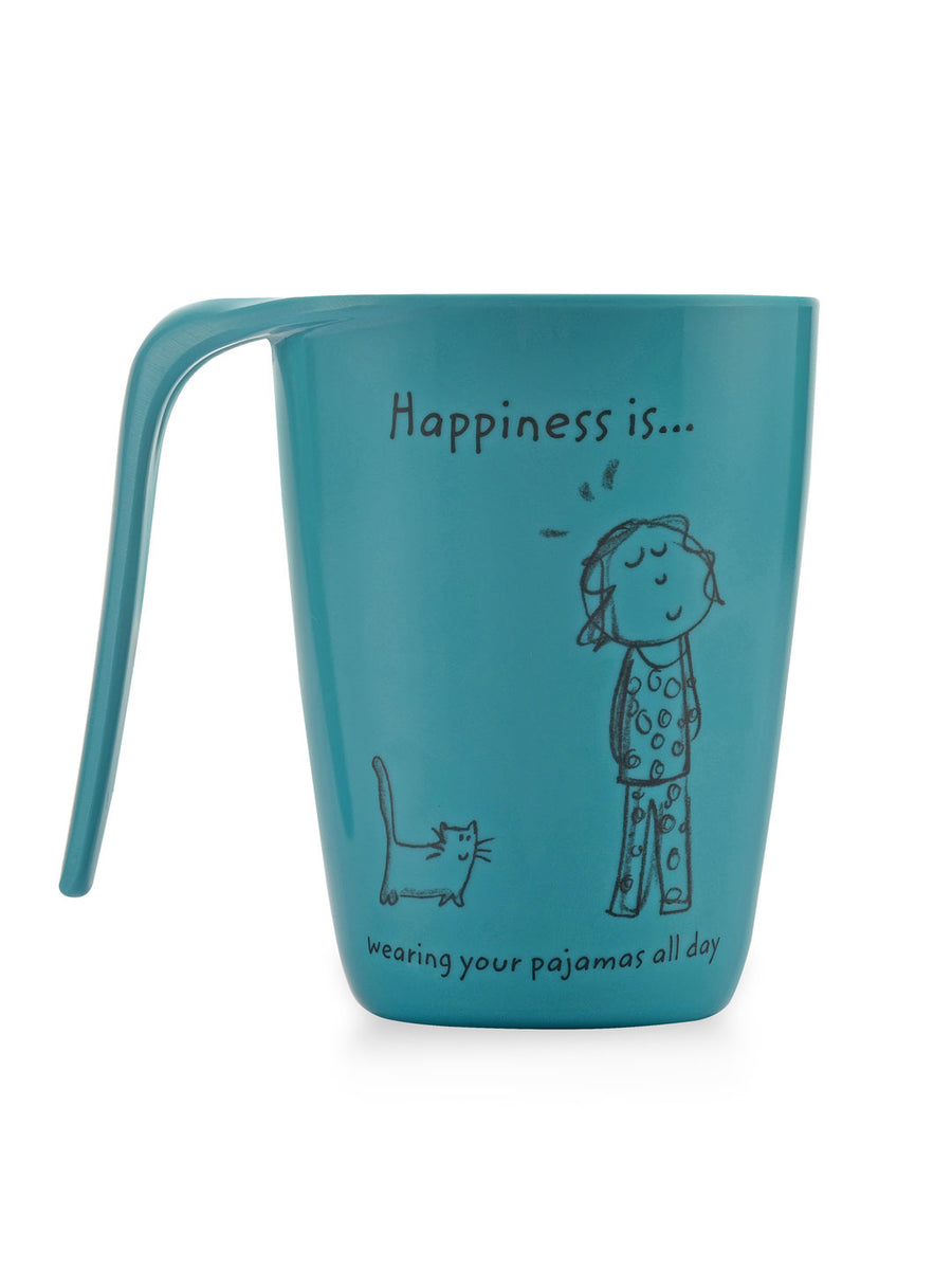 Alina Happiness 400 ml Mug (Sea Green)