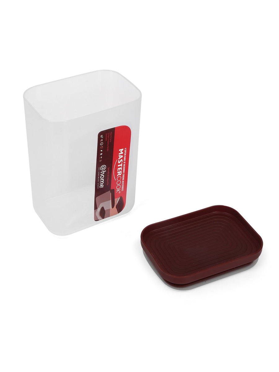Spartan Rectangle 1500 ml Container (Red)