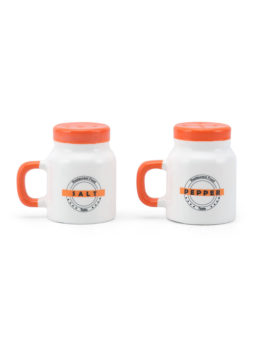 Mason Jar Salt & Pepper 2 Pieces (White)