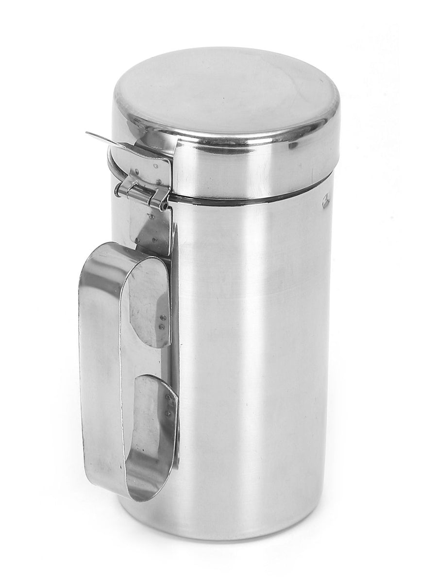 Ayodhya Small 500 ml Oil Can (Silver)
