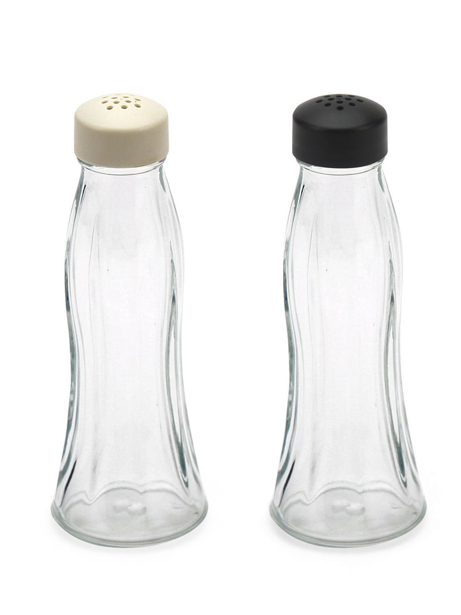 Salt & Pepper Container 2 Pieces (Clear)