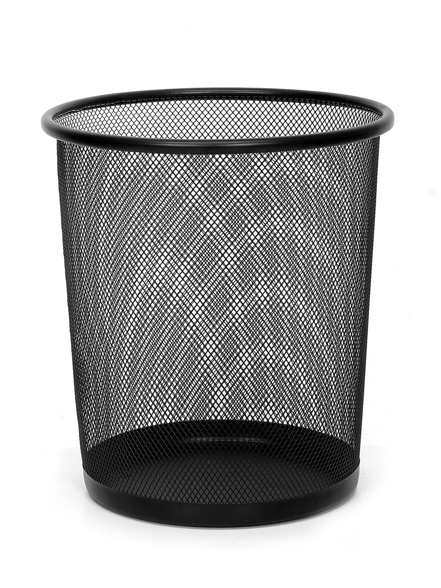 Mesh Dustbin 8 Ltr (Black)