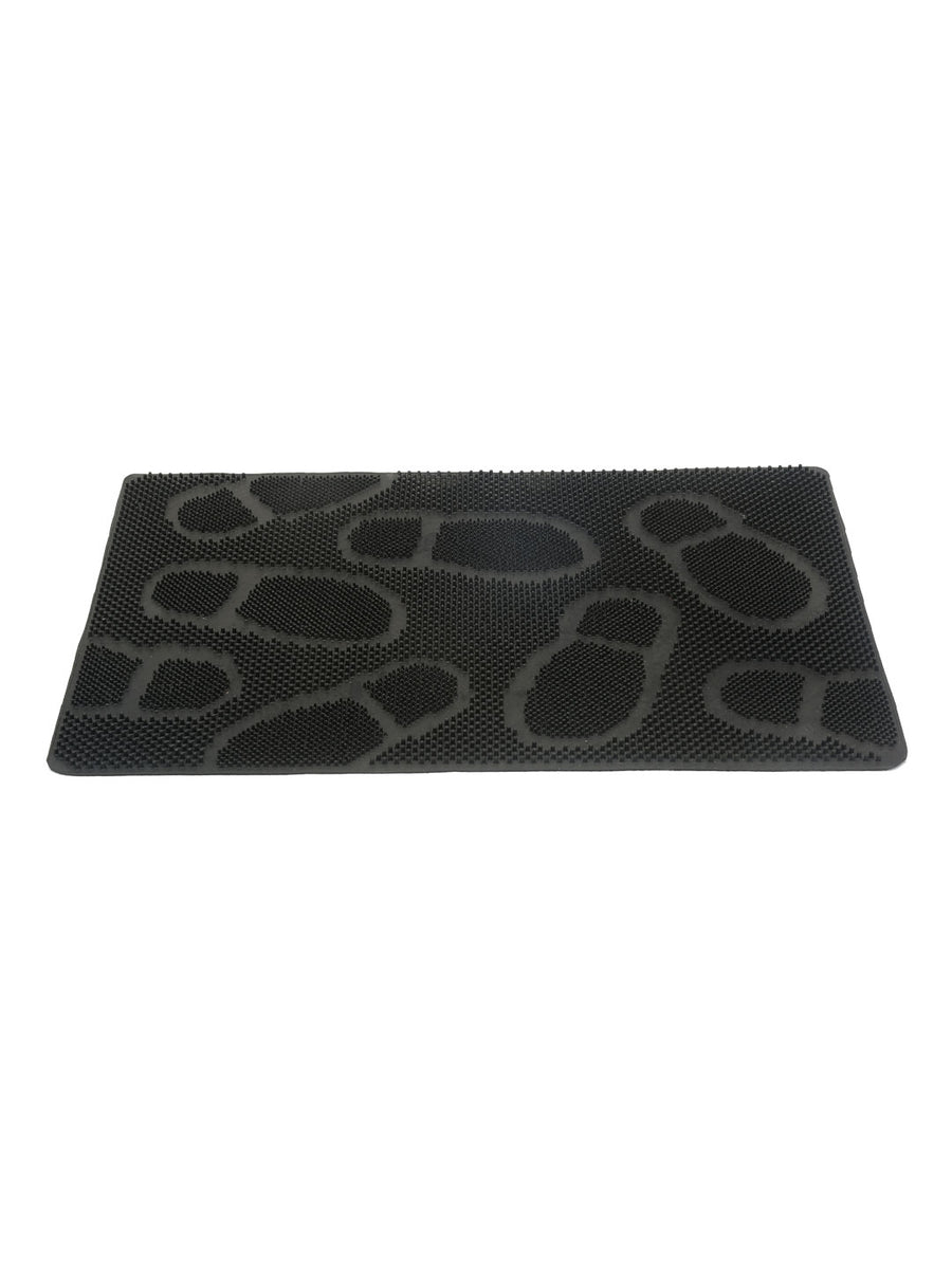 Shoe Rubber Doormat (Black)