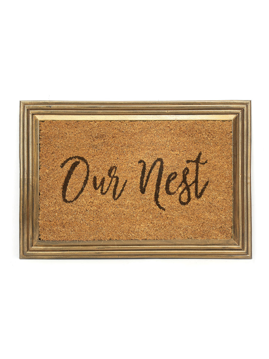 Nest Coir Doormat (Brown)